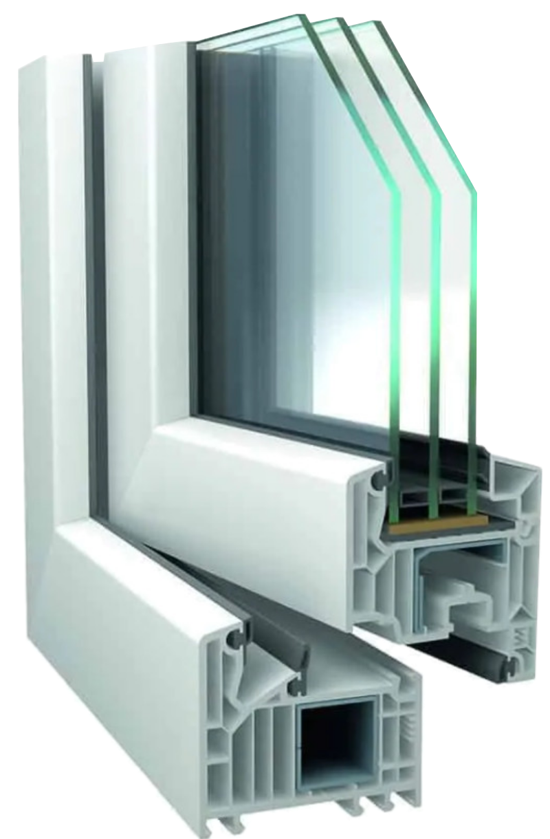 alevo műanyag-alumínium ablak